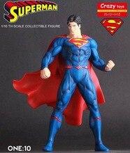 Сумасшедшие игрушки Супермен Лига Справедливости, коллекционная фигура, статуя 7