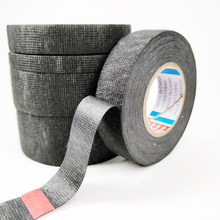 Coroplast-cinta adhesiva para ropa, 1 unidad, 19mm x 15m, para arnés de cables, cinta eléctrica