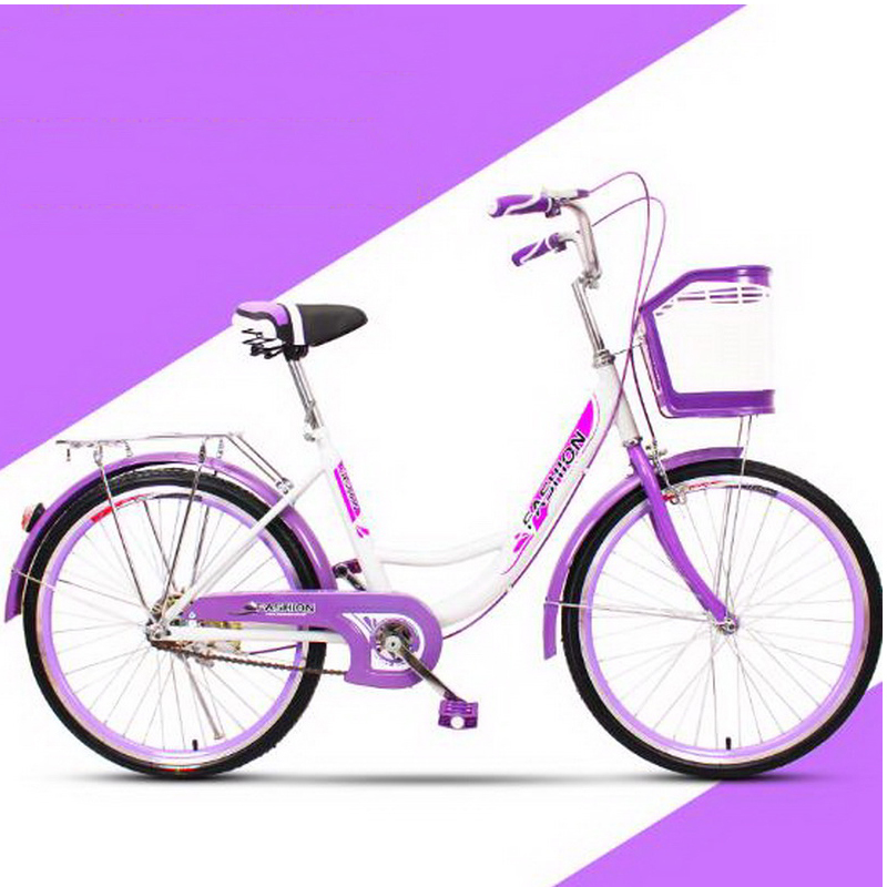 161003/Bicycle / Adult Cycling / General Commuter Voyage Walking Bike / 24/26 Inch Student Women Men's Lady Bicycle