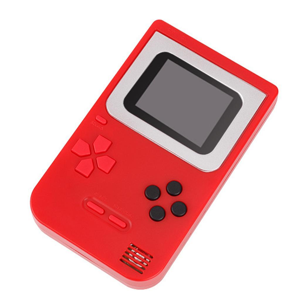 New Children Tetris Handheld Game Console Portable Mini Game Handheld White, Red, Green, Blue Toys