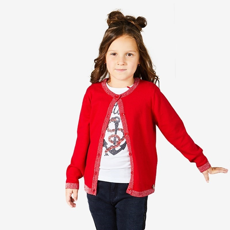 Sweaters Sweet Berry Knitted jacket for girls children clothing kid clothes sweet sweaters sweet sweaters джемпер 136705