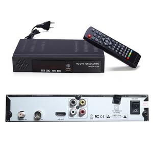 Image 5 - האיחוד האירופי תקע דיגיטלי יבשתי טלוויזיה בלווין מקלט Dvb T2 S2 קומבו Dvb T2 Dvb S2 טלוויזיה תיבת 1080P וידאו Hdmi החוצה עבור רוסיה אירופה