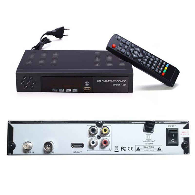 Image 5 - Eu Plug Digital Terrestrial Satellite Tv Receiver Dvb T2 S2 Combo Dvb T2 Dvb S2 Tv Box 1080P Video Hdmi Out For Russia Europe-in Set-top Boxes from Consumer Electronics