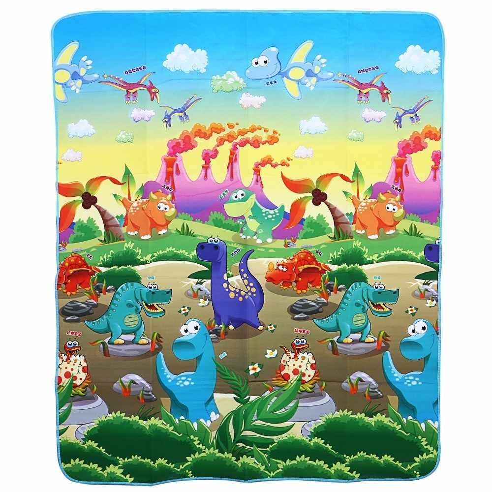 Младенческой ребенка играть коврики пол динозавры рай детский коврик Ползания игрушки детей развивающие резиновый коврик Playmat паззлы ковры