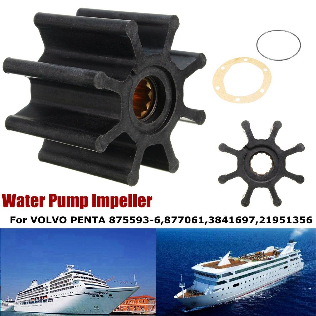 Water Pump Impeller Kit Rubber For VOLVO PENTA #875593-6 877061 3841697 NEWWater Pump Impeller Kit Rubber For VOLVO PENTA #875593-6 877061 3841697 NEW
