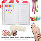 160 Nail Color Displ...