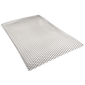 New Metal Hole Type Titanium Mesh Sheet 30cm X 20cm Perforated Plate Expanded Heat Corrosion Resistance Mesh Thickness 0.5mm