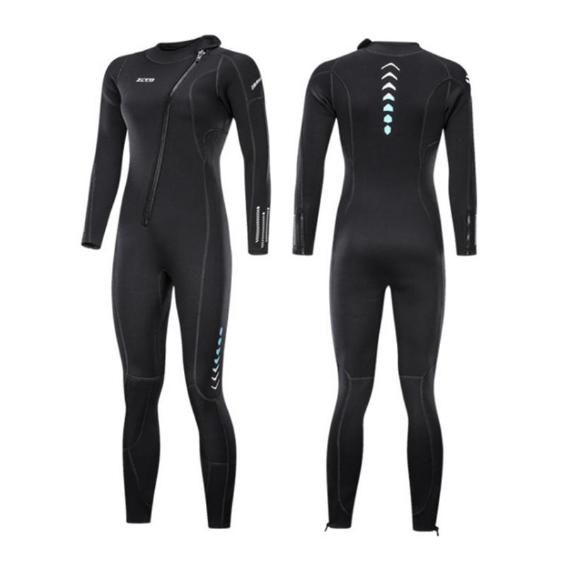 3MM Diving Suit Zipper Thickened Warm Wetsuit Outdoor Swimming Suit Sports Accessories3MM Diving Suit Zipper Thickened Warm Wetsuit Outdoor Swimming Suit Sports Accessories