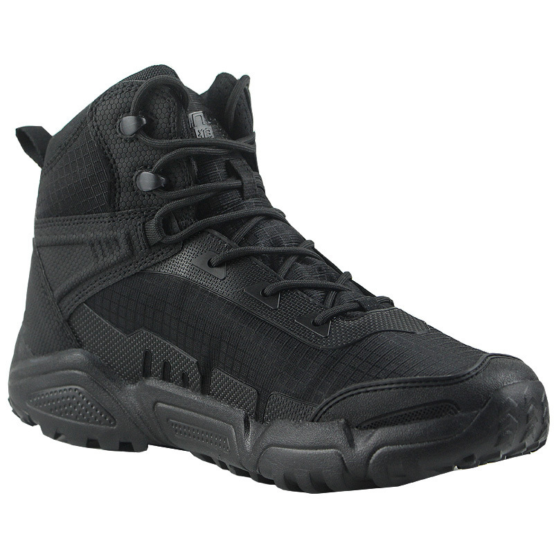 Lightweight men s training military tactical boots outdoor climbing non slip breathable desert army fans boot