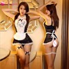Goorselent Maid Uniform Costumes Role Play Women Sexy Lingerie Hot Sexy Underwear Lovely Female White Lace Erotic Costume 1