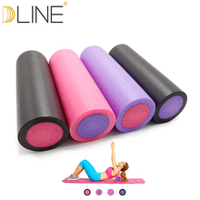 dline Foam Yoga Grid Foam Roller Yoga Block Pilates Massage Roller font b Fitness b font