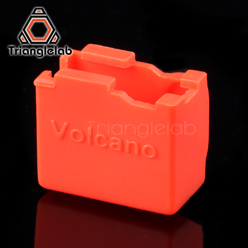 trianglelab high quality cartridge heater bock silicone socks Volcano socks for volcano heated block for volcano hotend nozzle in 3D Printer Parts Accessories from Computer Office