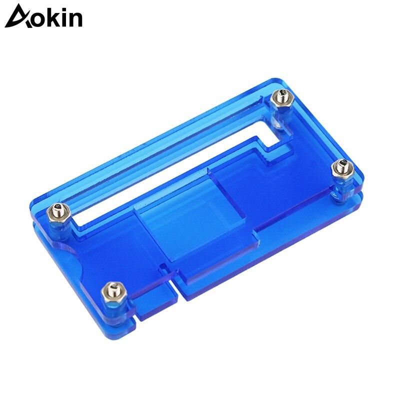 Aokin For Raspberry Pi Zero W Cases Transparent Box For Raspberry Pi Zero V 1.3 Board Case