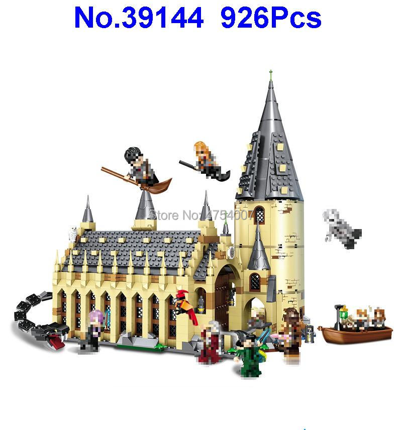 Toys & Hobbies Diplomatic 39144 926pcs Harry Movie Great Wall House Lele Building Blocks Compatible 75954 Toy Reliable Performance