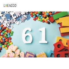 Laeacco Happy Childrens Day Backdrop Baby Party Photography Backgrounds Customized Photographic Backdrops For Photo Studio