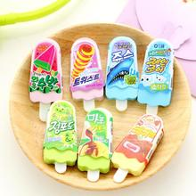 Ellen Brook 1 шт. милый мультяшный кавайный ластик, канцелярские принадлежности, офисные школьные принадлежности, мороженое, новинка, детский подарок, карандаш, ластик