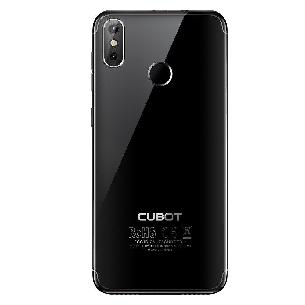 Cubot R11 Android 8,1 de 5,5 3G Smartphone 18:9 HD + pantalla MT6580 teléfono móvil Quad Core 2G RAM 16G ROM doble a las cámaras de los teléfonos celulares - 2