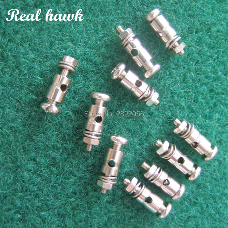 20pcs RC Plane Parts Replacement Pushrod Connectors Linkage Stoppers D1.3/1.8/2.1mm For Model Airplane free shipping20pcs RC Plane Parts Replacement Pushrod Connectors Linkage Stoppers D1.3/1.8/2.1mm For Model Airplane free shipping