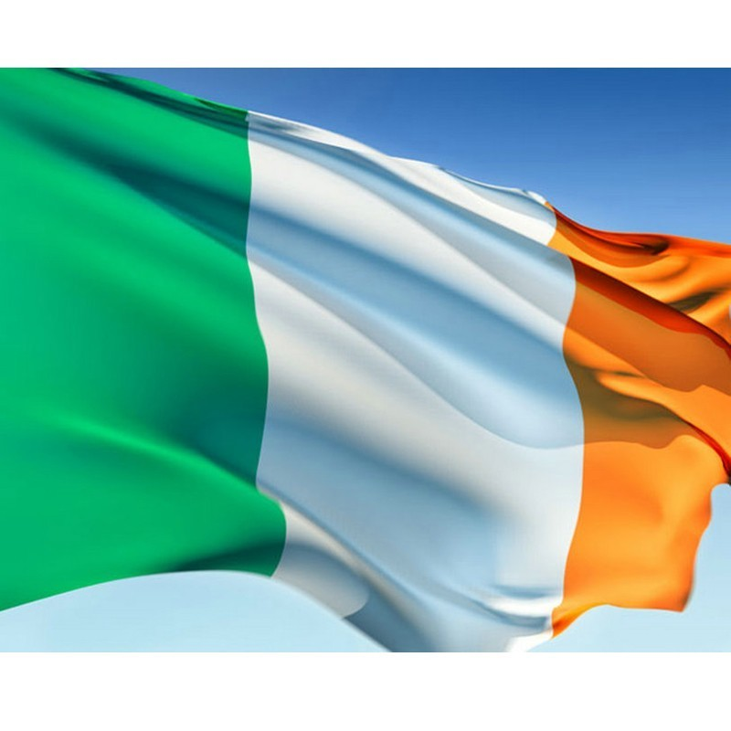 <font><b>90*150</b></font> Cm Irish flag Hanging Office Activity Parade Festival Home Decoration Drop Shipping National Flag image