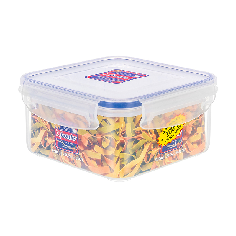 Lunch box Elan Gallery  830 ml Xeonic 810002 Tableware