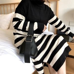 Image 3 - [BXX] 2020 Autumn Elegant Solid Chain Shoulder Bag For Women Brand Designer Luxury Ladies Travel Handbags and Purse HE122