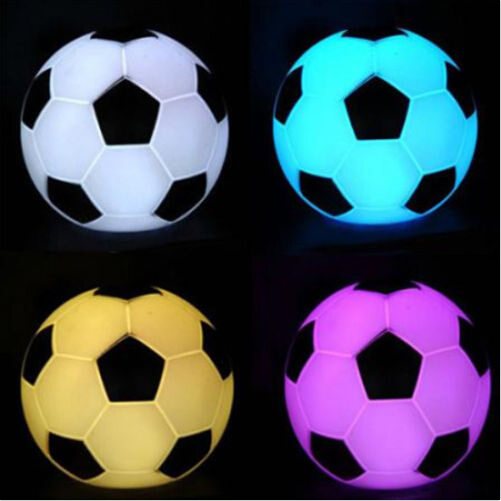 Mood Wedding Party Night Light For Soccer Sports Fans Best Gift Color Changing Football Night Light Led Decoration Nightlight