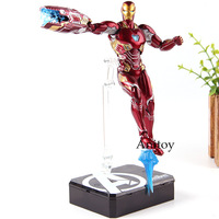 SHF Avengers Infinity War Iron Man MK50 & Tamashi Stage PVC Marvel Legends Action Figure Collection Model Toys