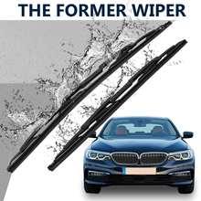 Car Windscreen Snow Wiper Windshield Rain Wipers Arm Blade For BMW E39 525i 528i 530i 540i 61619070579 cheap Autoleader ABS Rubber Window Snow Rain Wiper For BMW 528i E39 1997-2000 For BMW 525i E39 2001-2003 For BMW 530i E39 2001-2003