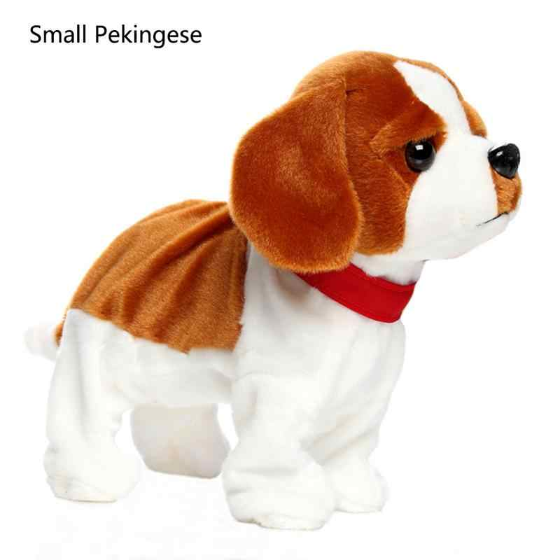 Детская электрическая игрушка собака умный голосовой контроль щенок будет звать танец плюшевый щенок Механическая кукла щенок кукла