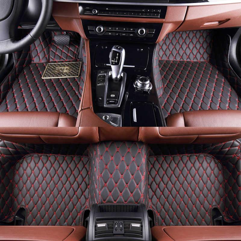 Tapis de sol de voiture pour INFINITI ESQ Q30 Q50 QX50 Q60 QX56 Q70 Q70L QX60 QX70 QX80 FX EX JX G accessoires de voiture tapis auto