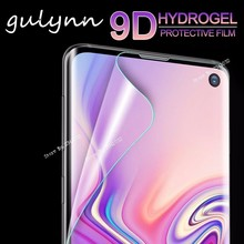 Full Soft Hydrogel Film For Samsung Galaxy J 4 3 6 A 8 5 7 2018 Cover 9D Screen Protector S 10E 10 Plus Not glass