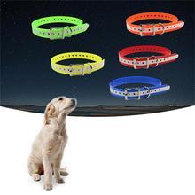TPU Luminous Pet Collar Dog Deodorant Dirt-resistant Wear Resistant Waterproof Easy To Clean Glow In The Evening