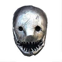 Novel Butcher Mask Party Halloween Full Face Mask Halloween Cosplay Parties Killer Horrible Game Mask High end Resin Mask