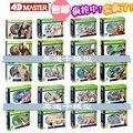 4d master puzzel Assembleren speelgoed Dier Hond kat Kip Paard Shark Whale Biologie orgel anatomisch model medische onderwijs model