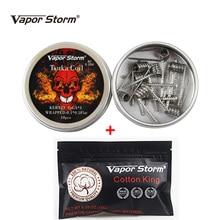 Vapor Storm A1 Fancy Prebuilt Coils Cotton Electronic Cigarettes Heating Core Torch Juggernaut Clapton RDA Resistance.jpg 220x220 - Vapes, mods and electronic cigaretes