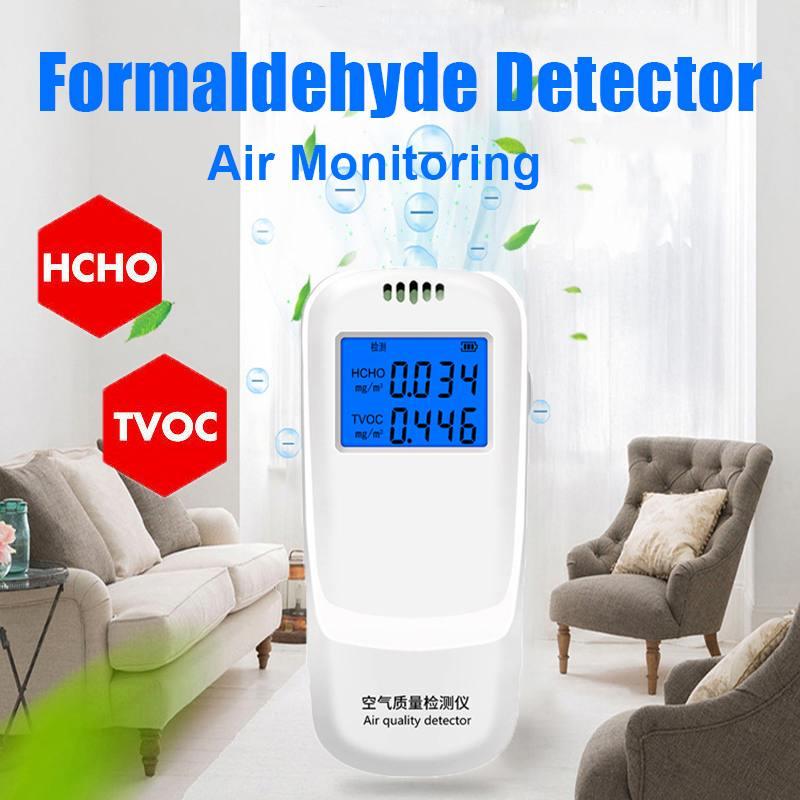 Werkzeuge Tragbare Formaldehyd Detektor Lcd Bildschirm Gas Tester Tvoc Hcho Air Qualität Monitor Gas Analysatoren Messung Hohe Qualität Mit Den Modernsten GeräTen Und Techniken Analysatoren