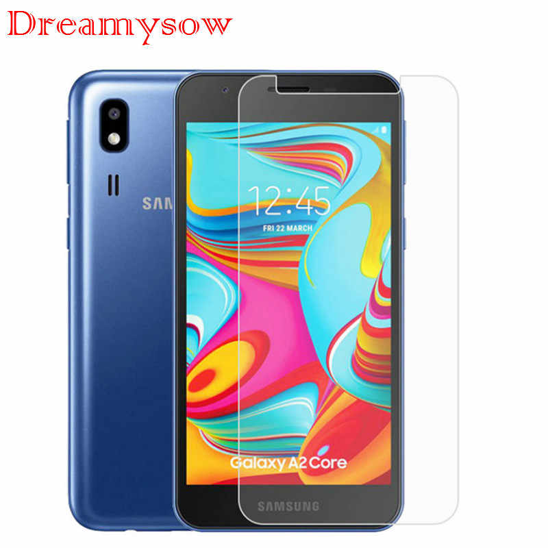 Screen Protector Tempered Glass Cover For Samsung Galaxy A90 A80 A70 A60 A50 A40 A30 A20 A10 M30 M20 M10 A750 A2 Core Front Film