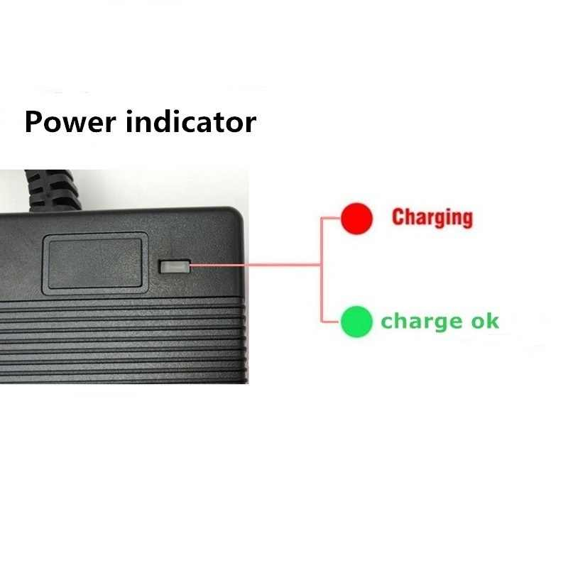 42V 2A Universal Battery Charger สำหรับ Hoverboard Smart BALANCE ล้อ 36 V ไฟฟ้าสกู๊ตเตอร์ F1 A8 ADAPTER EU/US/AU