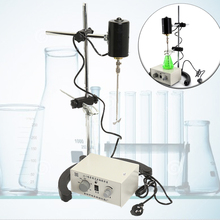 Лабораторный переменный ток 220 в 100 Вт 3000 об/мин Электрический лабораторный миксер, мостовой смеситель, регулируемая машина для перемешивания, блендеры, лабораторная мешалка