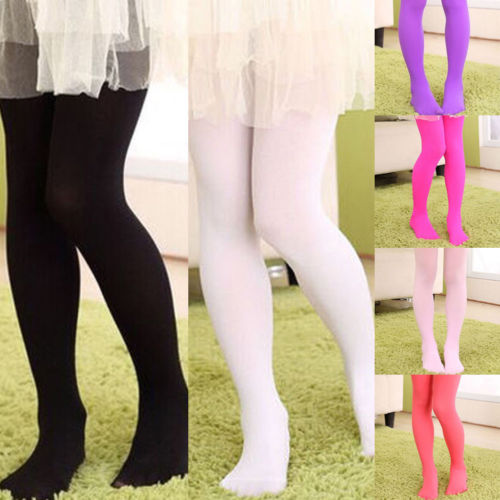 Winter Warm Velvet Girls Tight-fitting Elastic Trousers And Thick Dance Stockings Candy Colors Pantyhose Tights Stockings