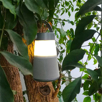Outdoor Camping Night Light Mobile Power 3 in 1 Innovative Bluetooth 4.0 Speaker Radio Rechargeable Portable Lantern USB Charger
