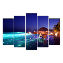 Modern Posters Most popular resorts Painting wall frame Canvas Art Pictures for Living Room Home Decoration Free Shipping