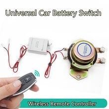 12 V автомобиль Батарея переключатель Беспроводной Управление отключения Реле Электромагнитная электромагнитный Мощность терминала