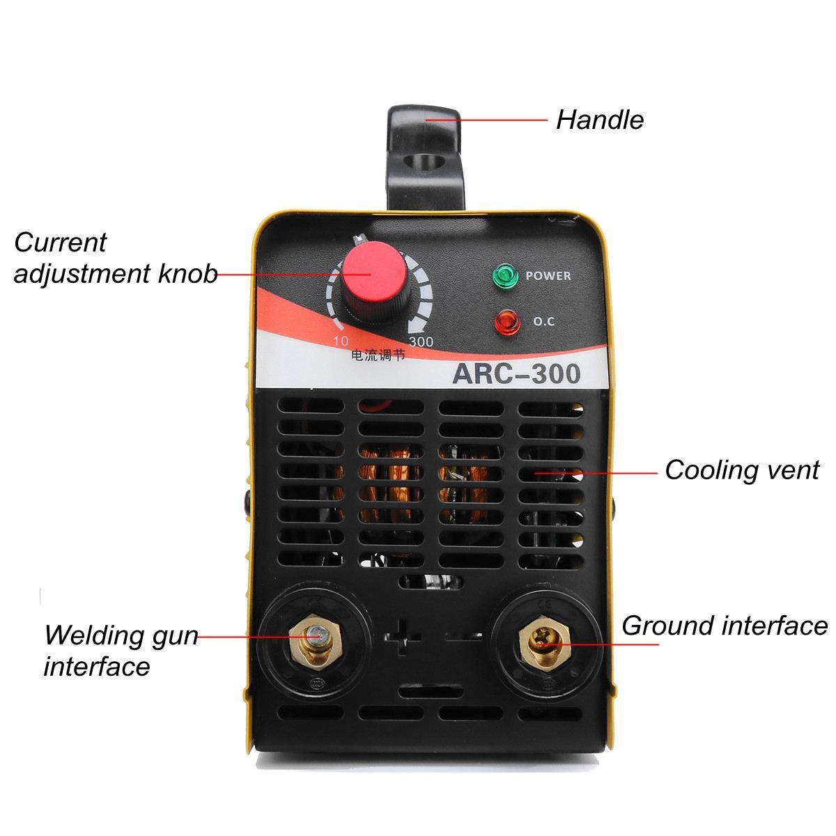IGBT ARC 10-300A сварочный инвертор сварочный аппарат IGBT MMA ARC ZX7 сварочный аппарат легкий сварочный электрод дуговой сварочный аппарат