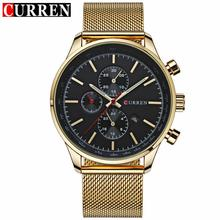 New CURREN Watches Luxury Brand Men Watch Full Steel Fashion Quartz-Watch Casual Male Sports Wristwatch Date Clock Relojes 8227 new curren watches luxury brand men watch full steel fashion quartz watch casual male sports wristwatch date clock relojes 8227