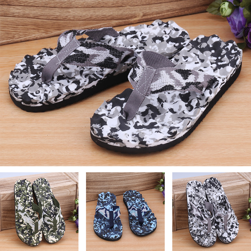 Summer Men Slippers Flip Flops Big Size EVA Camouflage Sandals Men Chinelo Masculino Sandalias De Hombre Plus Size
