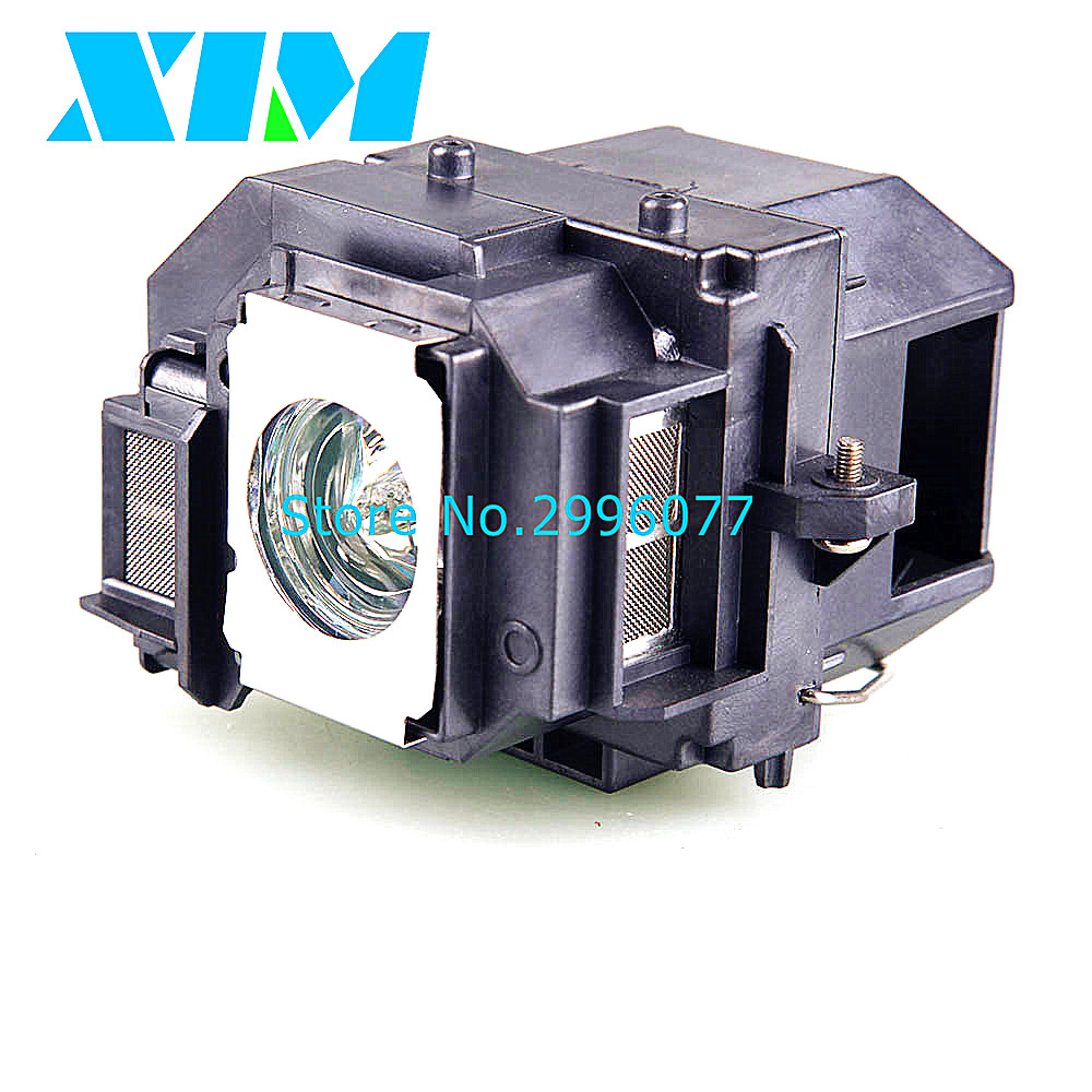 High Quality Replacement Projector  Lamp Module With housing for Epson EB W8D/PowerLite Presenter/H335A/  V13H010L55|Projector Bulbs| |  - title=