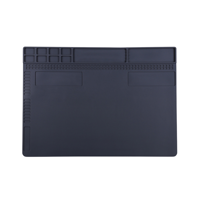 25 X 35cm Heat Resistant Silicone Pad  Welding Mat Solder Pad Work Platform For Maintenance Of Computer Mobile Optional New