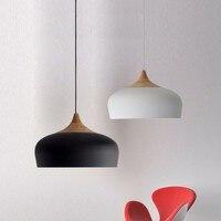 Moderne Anhänger Licht Küche Leuchten Für Esszimmer Holz Schwarz Restaurant Hängen Lampe Bar Schlafzimmer Beleuchtung Glanz-in Pendelleuchten aus Licht & Beleuchtung bei