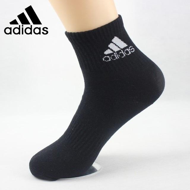 Calcetines deportivos de algodón transpirables originales de Adidas calcetines para correr #1 par